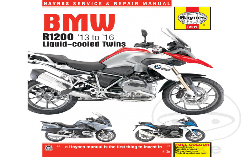 2015 BMW R1200r Owners Manual