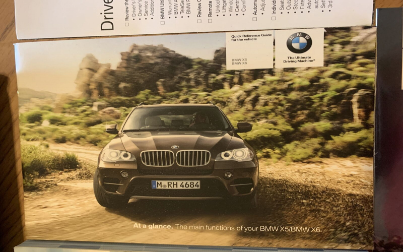 2015 BMW X5 50i Owners Manual