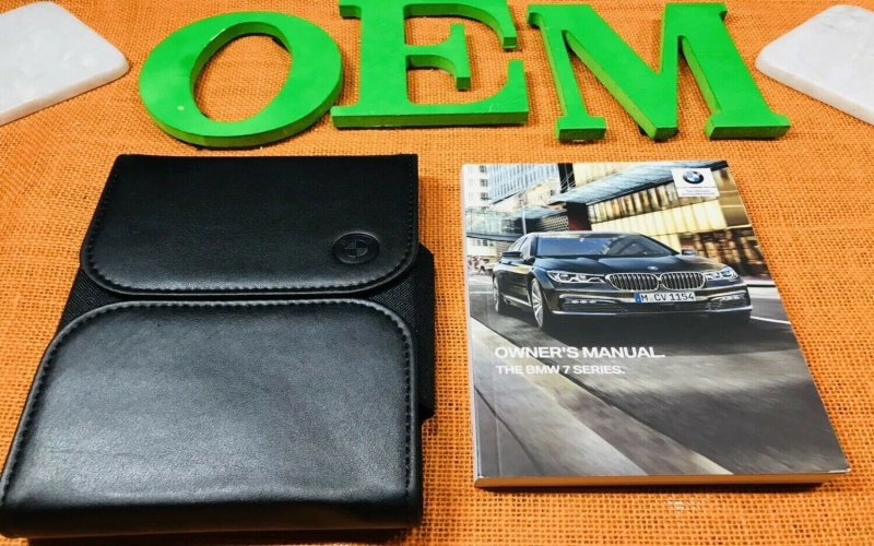 2019 BMW 740i Owners Manual
