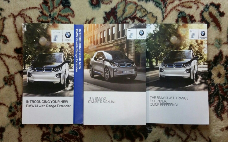 2019 BMW I3 Owners Manual