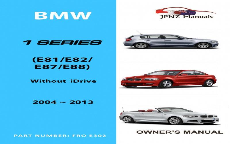 BMW 1 Series 2013 Owners Manual