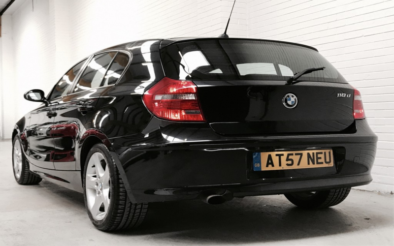 BMW 118d 2008 Owners Manual