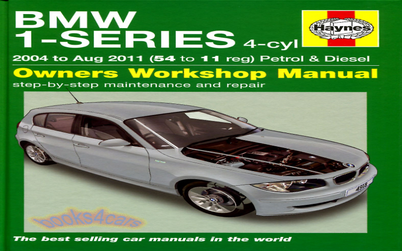 BMW 120i 2009 Owners Manual