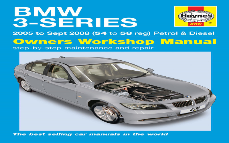 BMW 3 Series 2005 Owners Manual