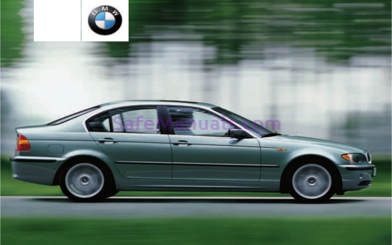 BMW 320i Owners Manual 2009