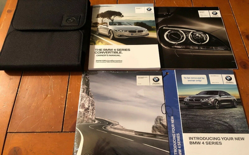 BMW 4 Series Convertible Owners Manual