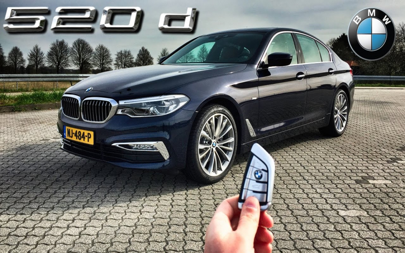 BMW 520d 2017 Owners Manual