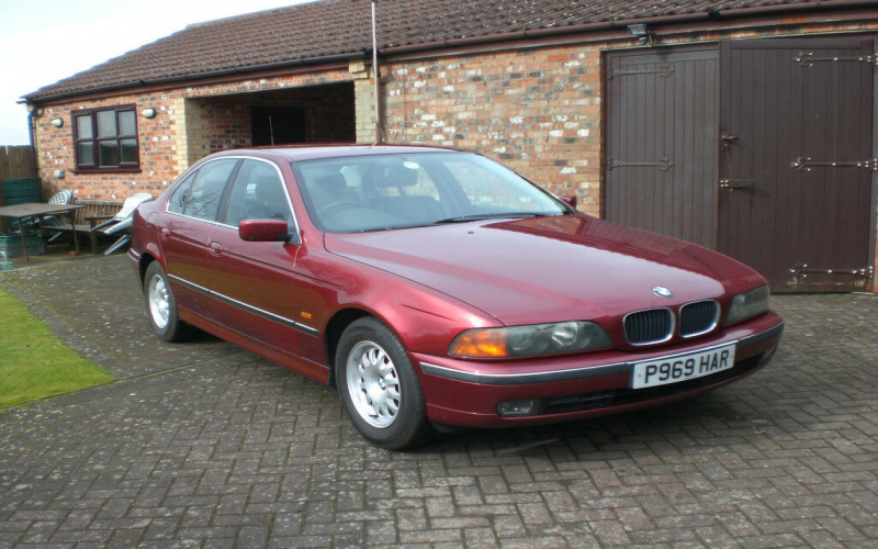 BMW 523i 1997 Owners Manual