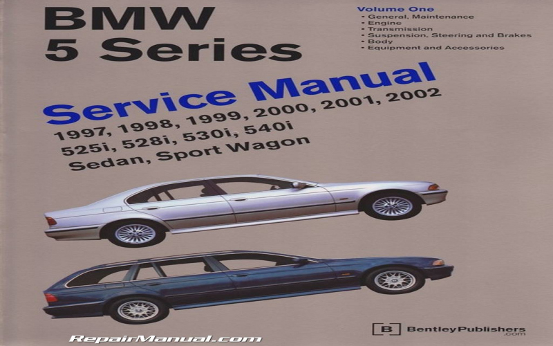 BMW 540i 1997 Owners Manual