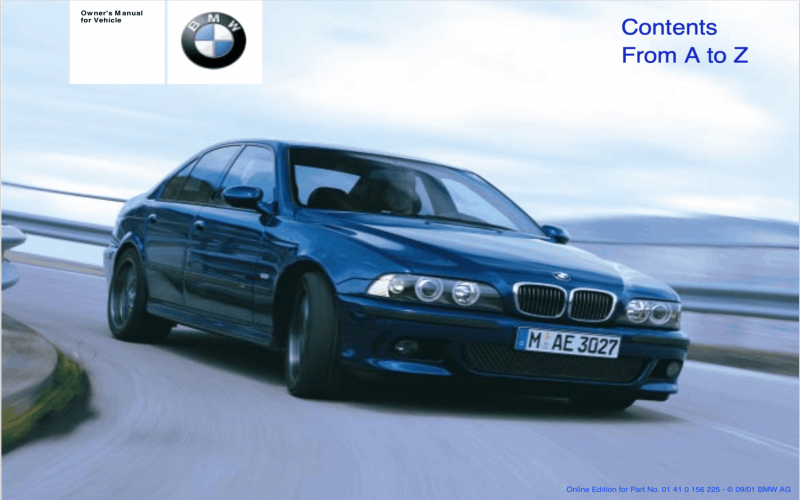 BMW E36 320i Owners Manual Download