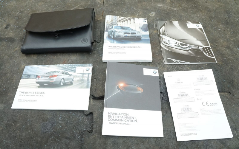 BMW F12 Owners Manual