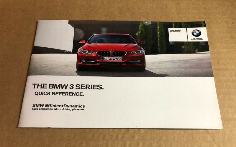 BMW F31 Owners Manual Uk