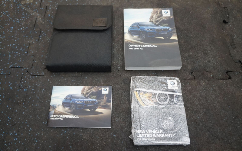 BMW G01 Owners Manual