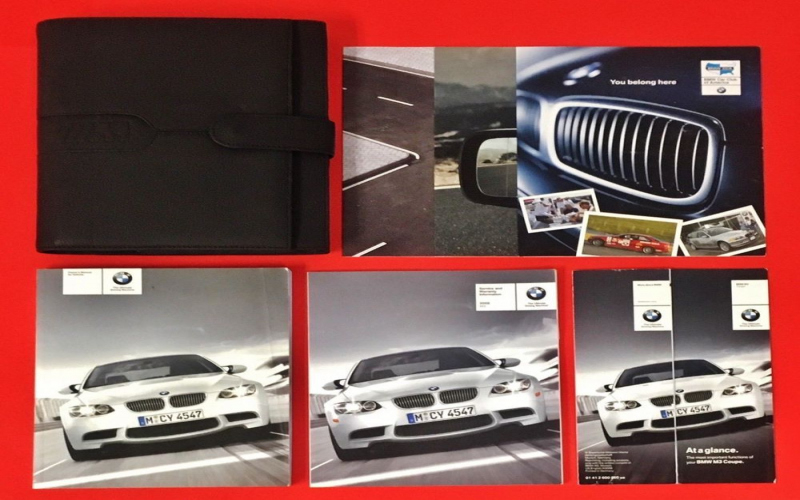 BMW M3 E92 Owners Manual