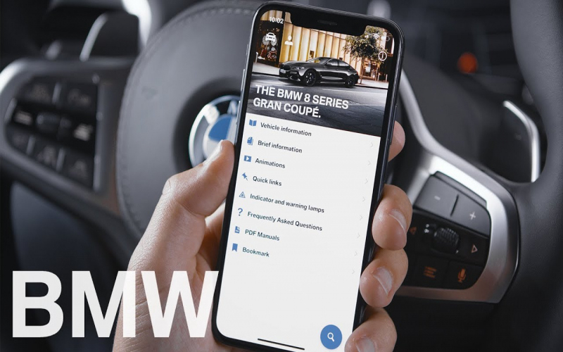 BMW Owners Manual App