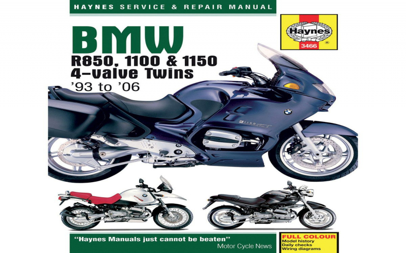 BMW R850r Owners Manual