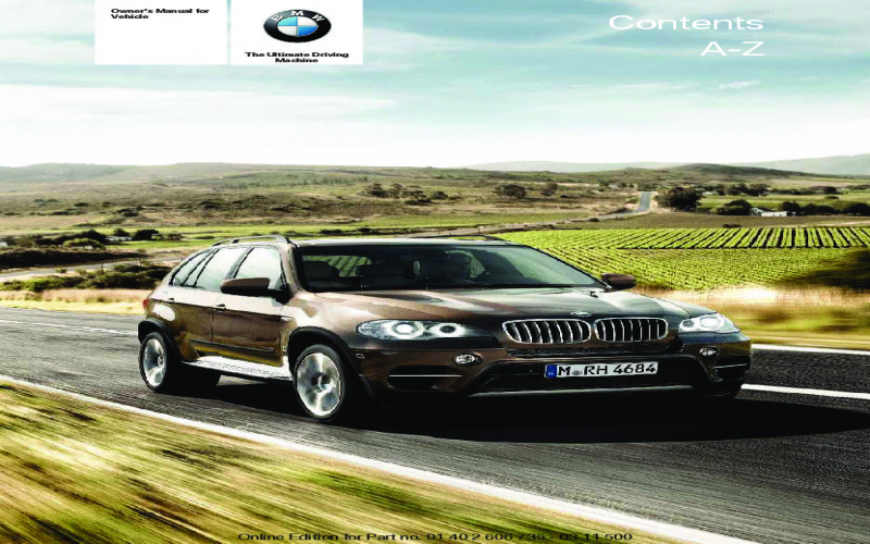 BMW X5 Owners Manual