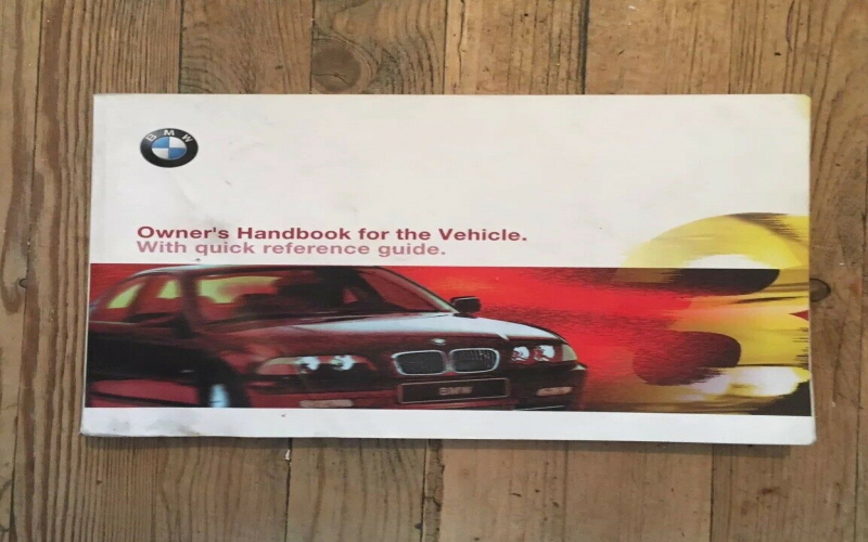 Find A 2002 BMW 330i Owners Manual Sale