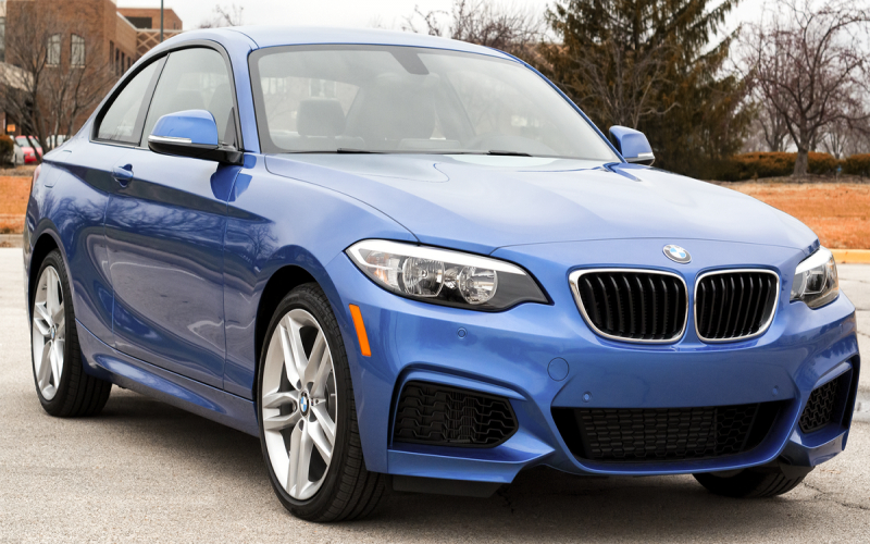 How To Reverse In A 2016 BMW 228i