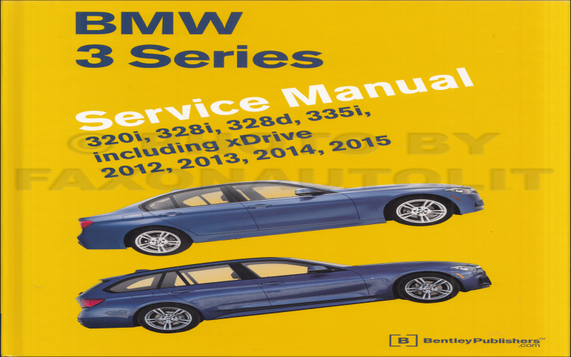 Owners Manual For 2015 BMW 320i