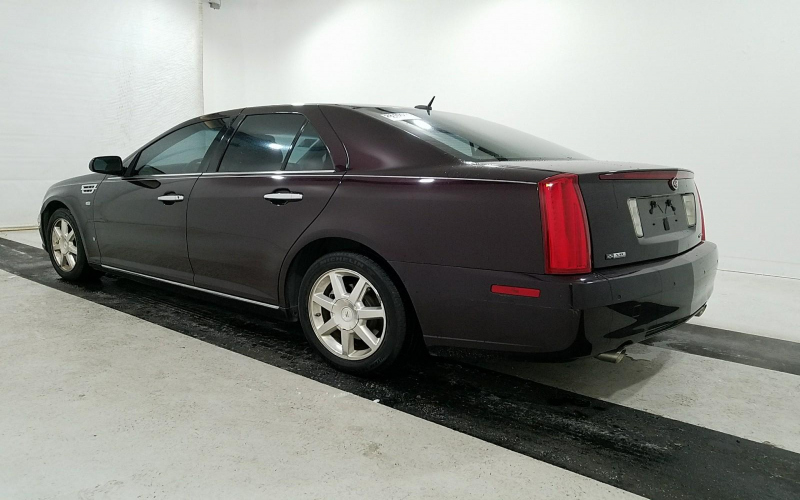 08 Cadillac Sts Owners Manual