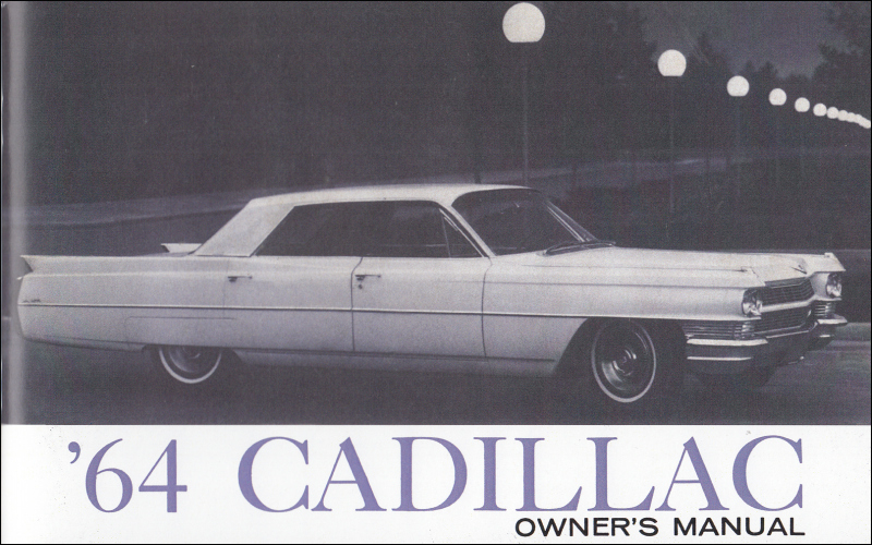 1964 Cadillac Coupe Deville Owners Manual