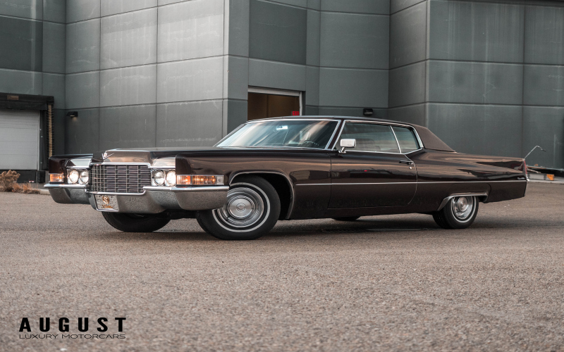 1969 Cadillac Deville Owners Manual