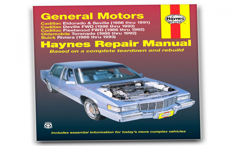 1988 Cadillac Coupe Deville Owners Manual