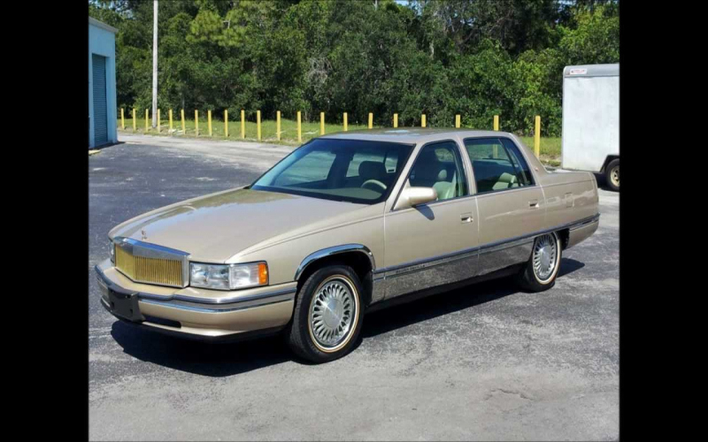 1994 Cadillac Deville Concours Owners Manual