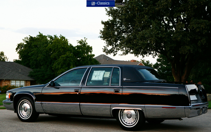 1996 Cadillac Fleetwood Brougham Owners Manual