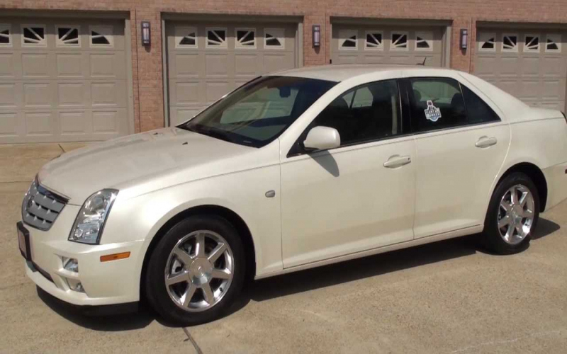 2005 Cadillac Sts Owners Manual