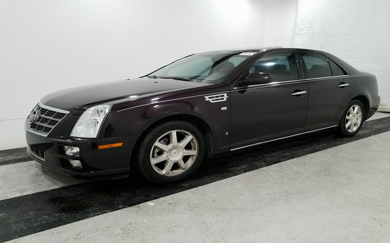 2008 Cadillac Sts Owners Manual