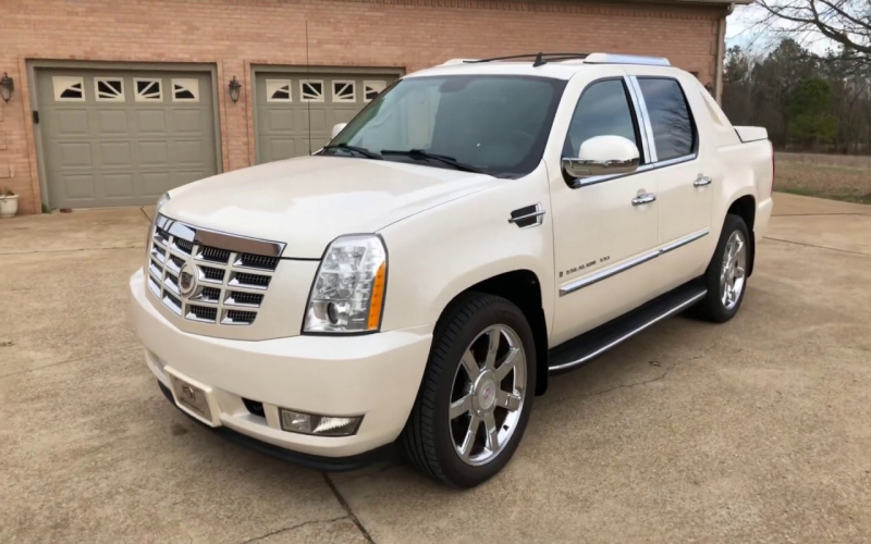 2009 Cadillac Escalade Ext Owners Manual
