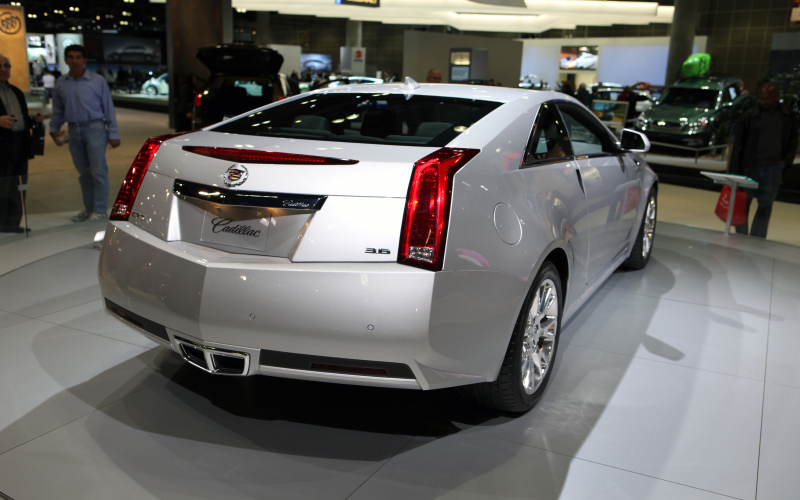 2011 Cadillac Cts 4 Coupe Owner Manual