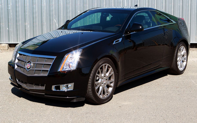 2011 Cadillac Cts Owners Manual Coupe
