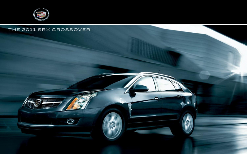 2011 Cadillac Srx Luxury Collection Owners Manual
