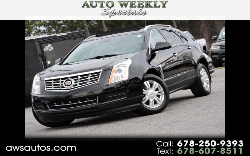 2013 Cadillac Srx Suv Crossover Owners Manual