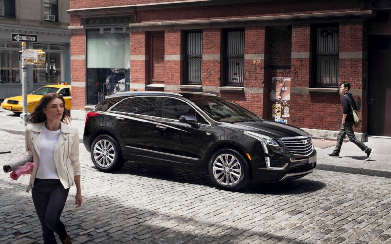 2017 Cadillac Xt5 Luxury Owners Manual