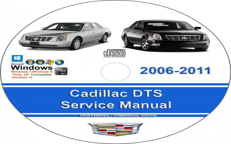 Cadillac 2008 Dts Owners Manual