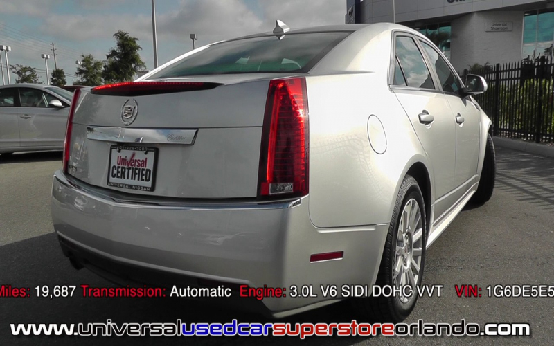 Cadillac Cts 2012 Owners Manual