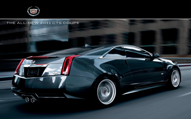 Cadillac Cts Coupe 2011 Owners Manual