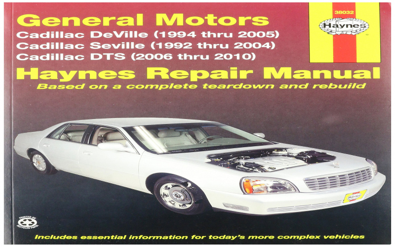 Cadillac Deville Owners Manual Pdf