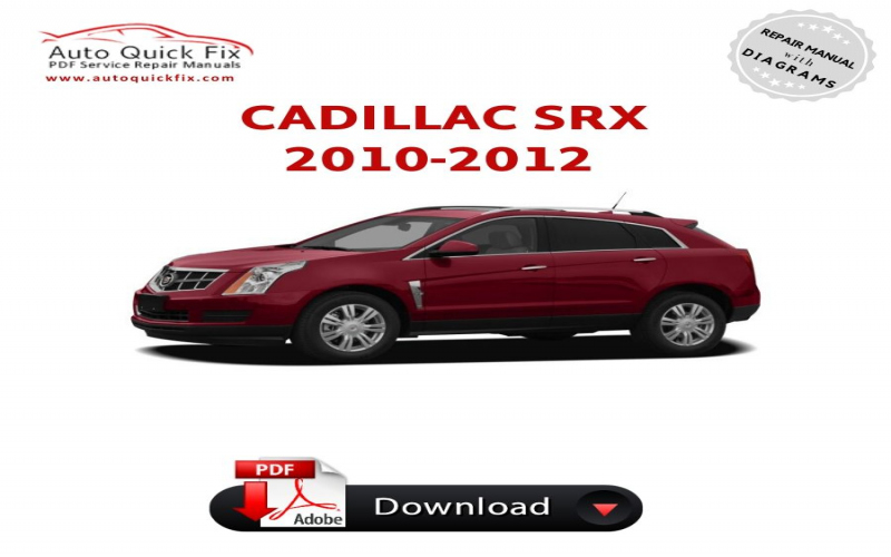 Cadillac Srx Owners Manual 2010