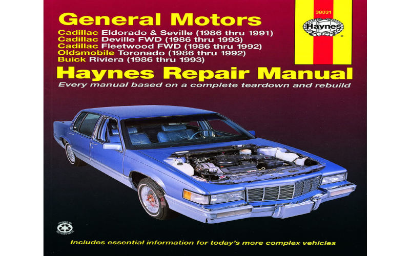Do All 92 Cadillac Devilles Use The Same Owners Manual