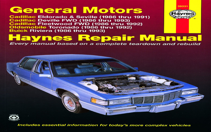 Do All 92 Cadillac Seville Use The Same Owners Manual