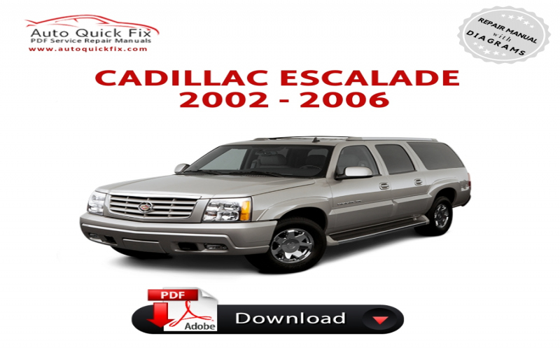 Owners Manual For 2002 Cadillac Escalade