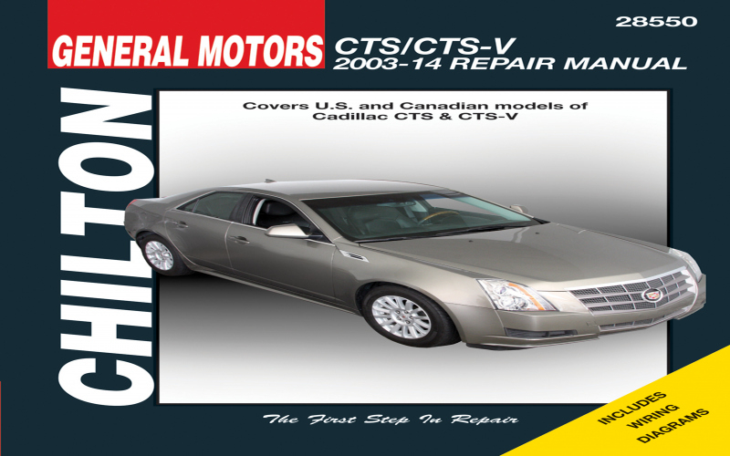 Owners Manual For 2003 Cadillac Cts