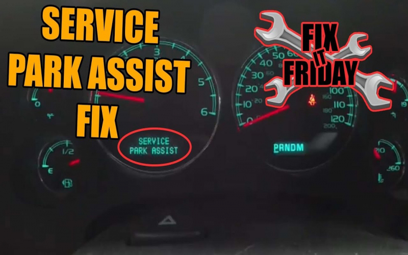 Park Assist Blocked See Owners Manual Cadillac