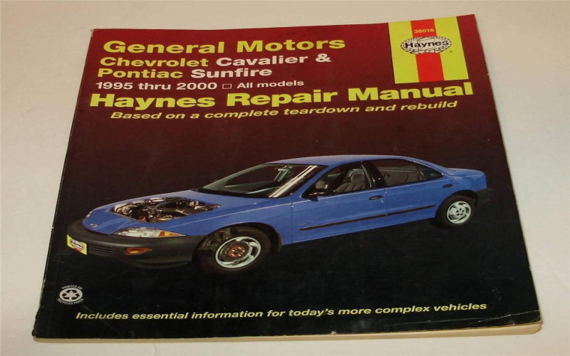 2000 Chevrolet Cavalier Owners Manual