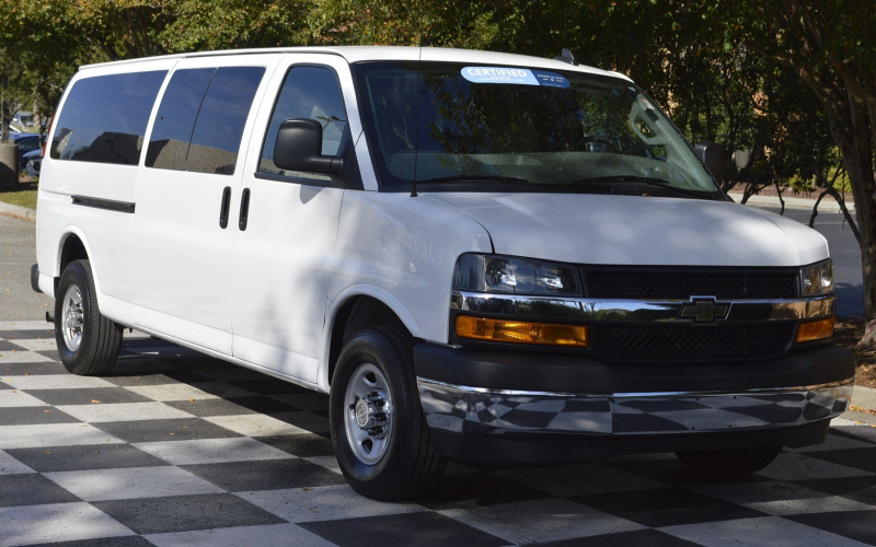 2000 Chevy Express Van Owners Manual
